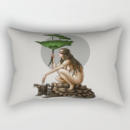 Winya No. 112 Rectangular Pillow