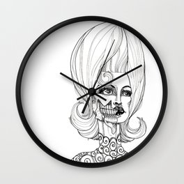Is There Life On Mars? Wall Clock