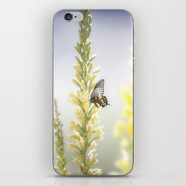 """Butterfly and Flowering Shindagger"" by Murray Bolesta! iPhone Skin"