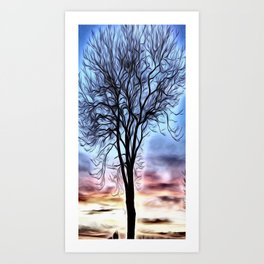 The Lovely Tree Art Print