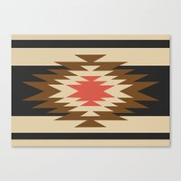 aztec Canvas Prints featuring Aztec 1 by Aztec