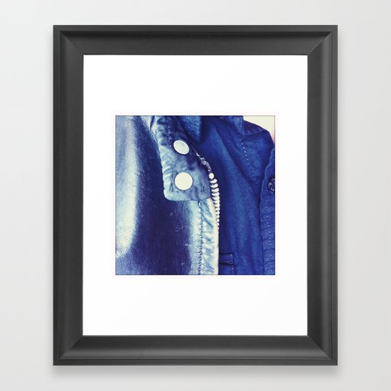 Vintage Leather 2 Framed Art Print
