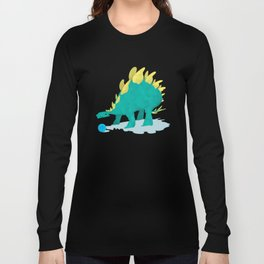 Stegosaurus and his Ball Long Sleeve T-shirt