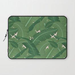 Banana Leaves - Bg Pink Blush Laptop Sleeve