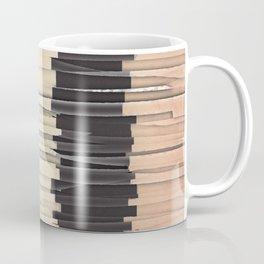 Shredded Stripes Abstract Coffee Mug