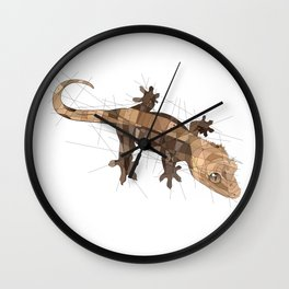 Crested Gecko Wall Clock