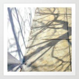 Yesterday's shadows ... Tomorrow's tales Art Print