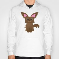 furry Hoodies featuring Furry Kitty by Yay Paul
