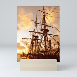 PIRATE SHIP :) Mini Art Print