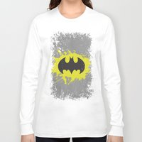 bat man Long Sleeve T-shirts featuring Bat Man by Some_Designs