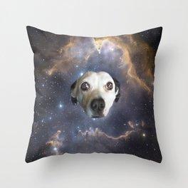 Dog Star Throw Pillow