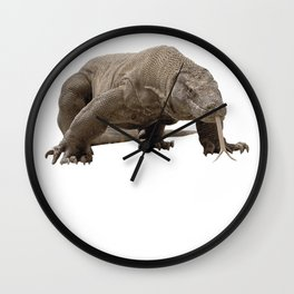Komodo dragon T Shirt Tshirt for men women boys girls kids Wall Clock