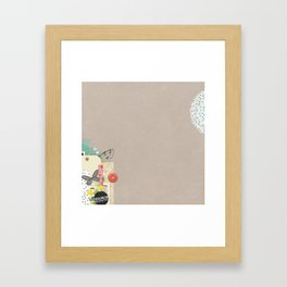These Are the Moments Framed Art Print