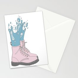 Mermaid Shoes Stationery Cards