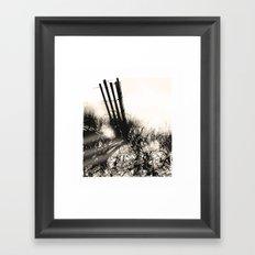 art in the sand series 1 Framed Art Print