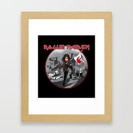 Rogue Maiden Framed Art Print