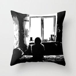 4 a.m. Throw Pillow