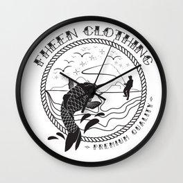 The Fheen Fishermen  Wall Clock