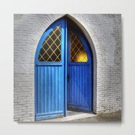 Small church Kempen Belgium Europa Metal Print