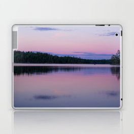 Sunset on Little Loon Laptop & iPad Skin