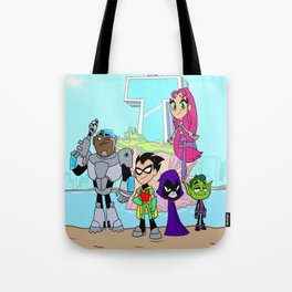 Teen Titans Go! Tote Bag