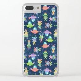 Kosmic Kiddos Clear iPhone Case