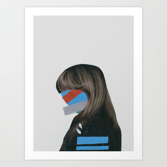 It's Not Me Art Print