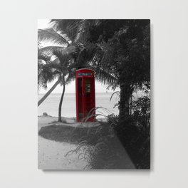 Why Do You Stay Here? Metal Print