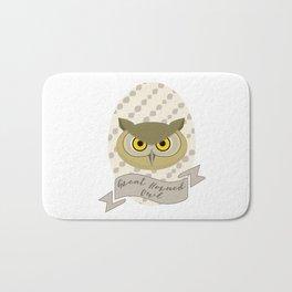 Señora Owl Bath Mat