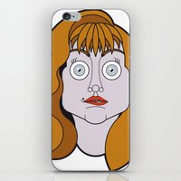helen iPhone & iPod Skins featuring Helen Sharp by mattiaBAUvegni