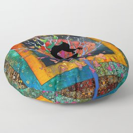 Hope Springs Floor Pillow