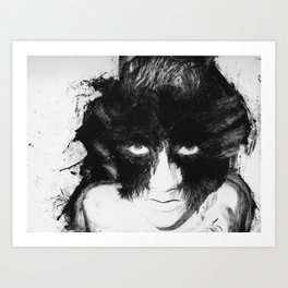 Creature of the Night Variation Art Print