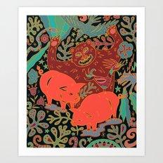 Peaceful Grazing Art Print