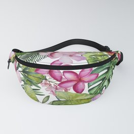 Tropical Garden 3 Fanny Pack