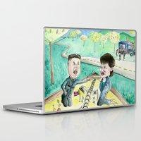 korean Laptop & iPad Skins featuring Korean Sandbox  by Kyle McDonald