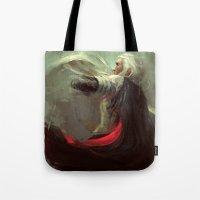 thranduil Tote Bags featuring Thranduil by nlmda