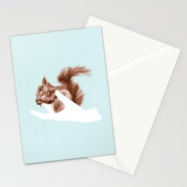 a friend in my hand 4 Stationery Cards