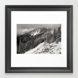 Storm is brewing! Framed Art Print