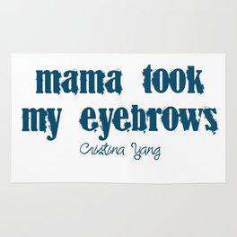 Eyebrows Rug