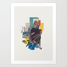 NO SURPRISE Art Print