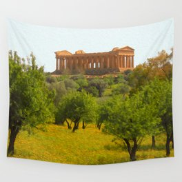 Agrigento and the Valley of the Temples Wall Tapestry