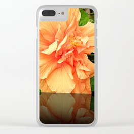 Orange Petals v3 Clear iPhone Case