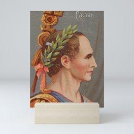 Vintage Julius Caesar Illustration (1888) Mini Art Print