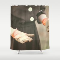 lady Shower Curtains featuring Lady by MNO Photography