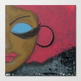 Sassy Girl  Canvas Print