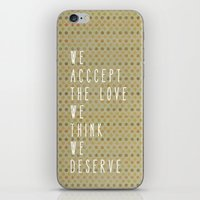 the perks of being a wallflower iPhone & iPod Skins featuring perks of being a wallflower by Elanor Jarque