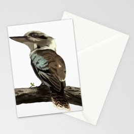 Up in a tree kookaburra king Stationery Cards