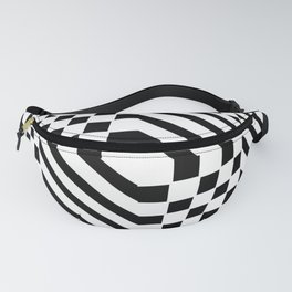 Tribute to Vasarely 1 -visual illusion Fanny Pack