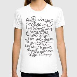 #morethanpretty T-shirt