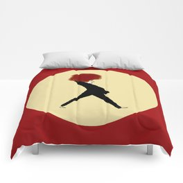 Lady Red Comforters